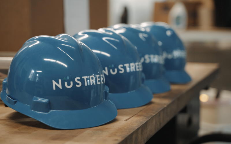 NuSTREEM Hydropower Logo Helmets