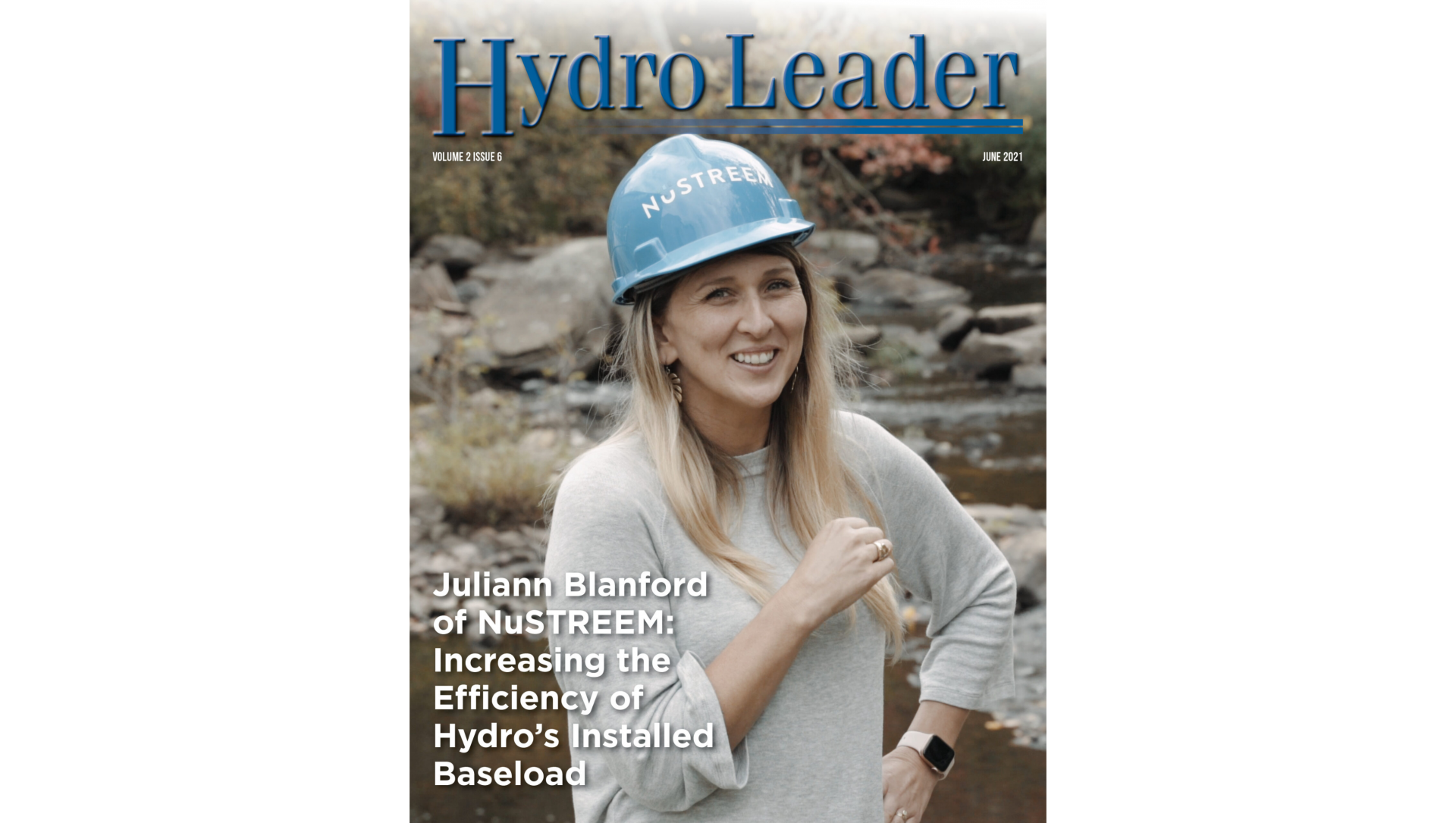NuSTREEM Featured on Hydro Leader Magazine Cover