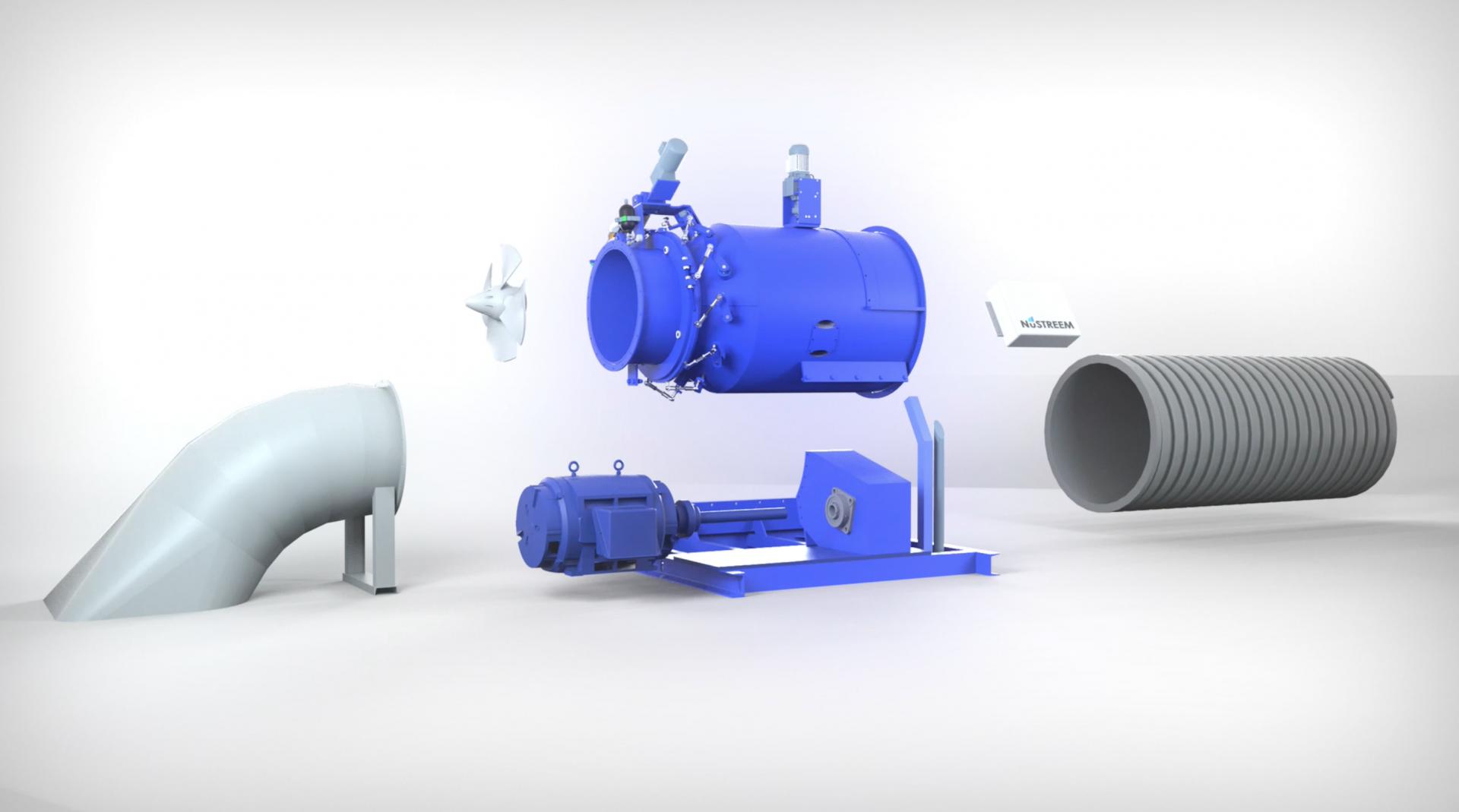 NuTURBINE Kaplan Turbine