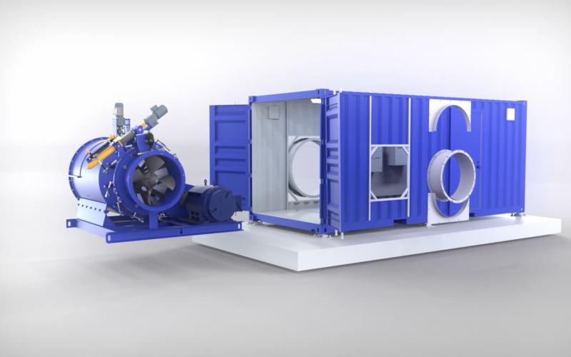 Modular Hydropower System | NuCONTAINER