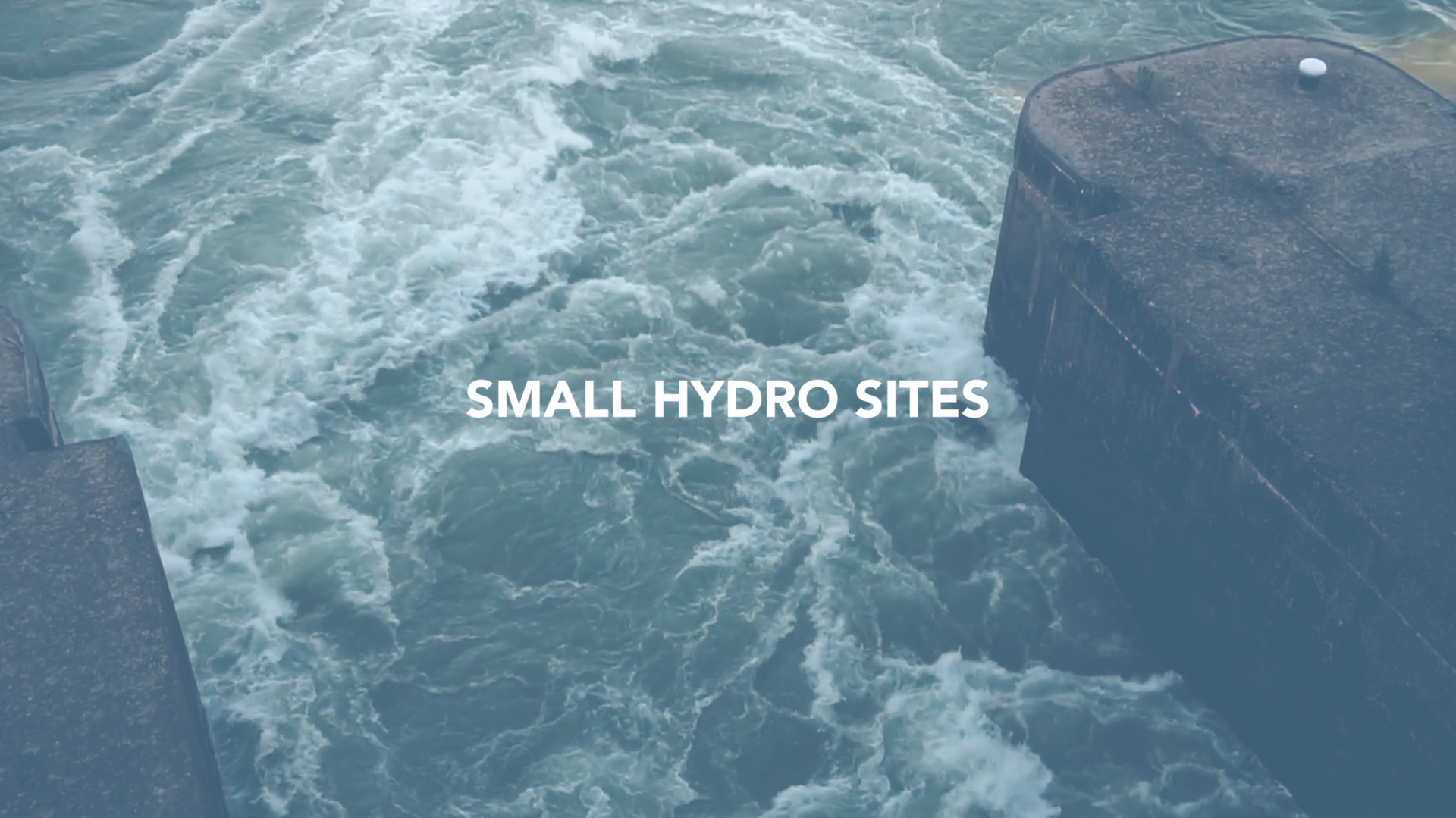 Small or Low Head Hydro Site Applications